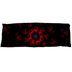 Fractal Abstract Blossom Bloom Red Body Pillow Case Dakimakura (two Sides)