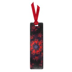 Fractal Abstract Blossom Bloom Red Small Book Marks