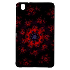 Fractal Abstract Blossom Bloom Red Samsung Galaxy Tab Pro 8 4 Hardshell Case