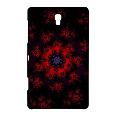 Fractal Abstract Blossom Bloom Red Samsung Galaxy Tab S (8 4 ) Hardshell Case