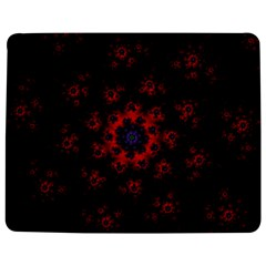 Fractal Abstract Blossom Bloom Red Jigsaw Puzzle Photo Stand (rectangular)