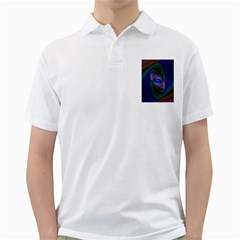 Ellipse Fractal Computer Generated Golf Shirts