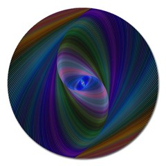 Ellipse Fractal Computer Generated Magnet 5  (round)