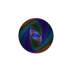 Ellipse Fractal Computer Generated Golf Ball Marker