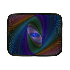 Ellipse Fractal Computer Generated Netbook Case (small)