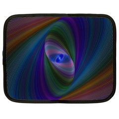 Ellipse Fractal Computer Generated Netbook Case (xl)
