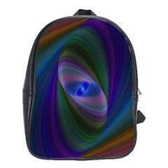 Ellipse Fractal Computer Generated School Bags(large)