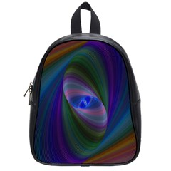 Ellipse Fractal Computer Generated School Bags (small)