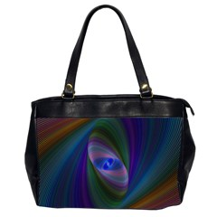 Ellipse Fractal Computer Generated Office Handbags (2 Sides)