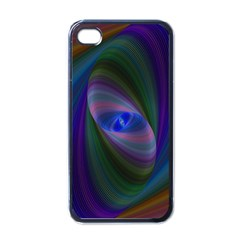 Ellipse Fractal Computer Generated Apple Iphone 4 Case (black)