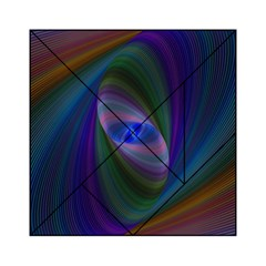 Ellipse Fractal Computer Generated Acrylic Tangram Puzzle (6  X 6 )