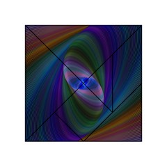 Ellipse Fractal Computer Generated Acrylic Tangram Puzzle (4  X 4 )