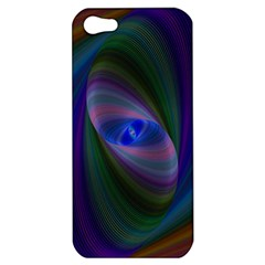 Ellipse Fractal Computer Generated Apple Iphone 5 Hardshell Case