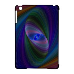 Ellipse Fractal Computer Generated Apple Ipad Mini Hardshell Case (compatible With Smart Cover)