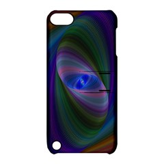 Ellipse Fractal Computer Generated Apple Ipod Touch 5 Hardshell Case With Stand
