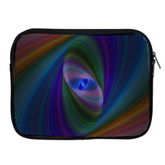 Ellipse Fractal Computer Generated Apple Ipad 2/3/4 Zipper Cases