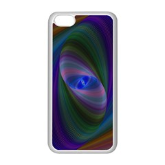 Ellipse Fractal Computer Generated Apple Iphone 5c Seamless Case (white)