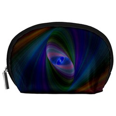 Ellipse Fractal Computer Generated Accessory Pouches (large)