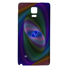 Ellipse Fractal Computer Generated Galaxy Note 4 Back Case