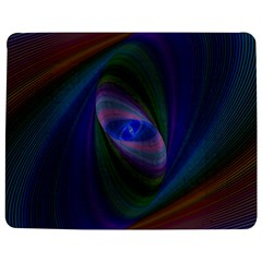 Ellipse Fractal Computer Generated Jigsaw Puzzle Photo Stand (rectangular)