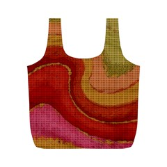Candy Cloth Full Print Recycle Bags (m)