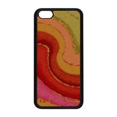 Candy Cloth Apple Iphone 5c Seamless Case (black)