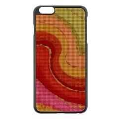 Candy Cloth Apple Iphone 6 Plus/6s Plus Black Enamel Case
