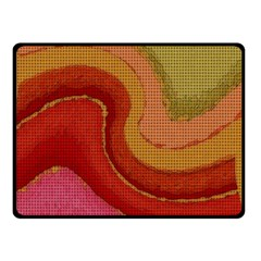 Candy Cloth Double Sided Fleece Blanket (small)