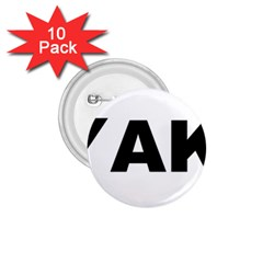 Akbash Love 1.75  Buttons (10 pack)