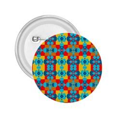 Pop Art Abstract Design Pattern 2 25  Buttons