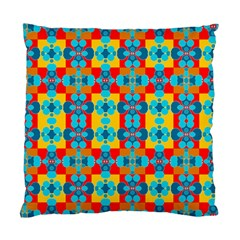 Pop Art Abstract Design Pattern Standard Cushion Case (two Sides)