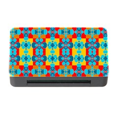 Pop Art Abstract Design Pattern Memory Card Reader With Cf