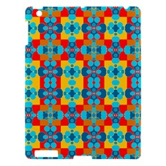 Pop Art Abstract Design Pattern Apple Ipad 3/4 Hardshell Case