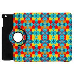 Pop Art Abstract Design Pattern Apple Ipad Mini Flip 360 Case