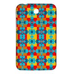 Pop Art Abstract Design Pattern Samsung Galaxy Tab 3 (7 ) P3200 Hardshell Case