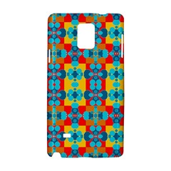 Pop Art Abstract Design Pattern Samsung Galaxy Note 4 Hardshell Case