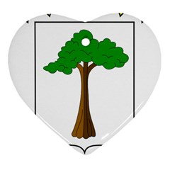Coat of Arms of Equatorial Guinea Ornament (Heart)