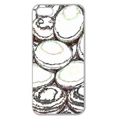 Eggs Apple Seamless Iphone 5 Case (clear)