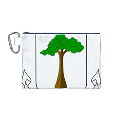 Coat of Arms of Equatorial Guinea Canvas Cosmetic Bag (M)