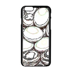 Eggs Apple Iphone 6/6s Black Enamel Case