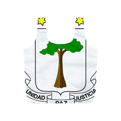 Coat of Arms of Equatorial Guinea Full Print Recycle Bags (S)