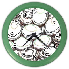 Eggs Color Wall Clocks