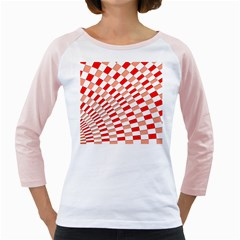 Graphics Pattern Design Abstract Girly Raglans