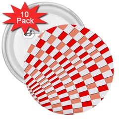 Graphics Pattern Design Abstract 3  Buttons (10 Pack)
