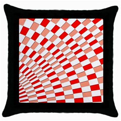 Graphics Pattern Design Abstract Throw Pillow Case (black)