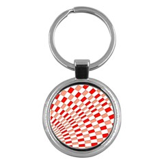 Graphics Pattern Design Abstract Key Chains (Round)