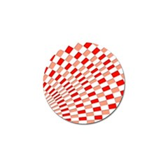 Graphics Pattern Design Abstract Golf Ball Marker (4 Pack)