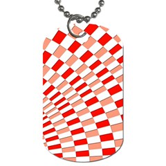 Graphics Pattern Design Abstract Dog Tag (two Sides)