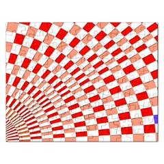 Graphics Pattern Design Abstract Rectangular Jigsaw Puzzl