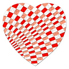 Graphics Pattern Design Abstract Jigsaw Puzzle (heart)